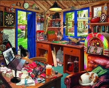 Dad's Hideaway - 1,000 Piece Puzzle