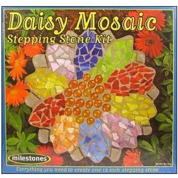 Stepping Stone Kit- Daisy Mosaic