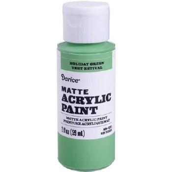 Matte Acrylic Paint, 2oz- Holiday Green