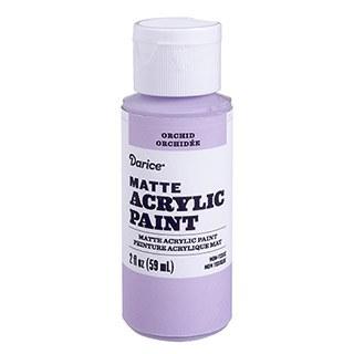 Matte Acrylic Paint, 2oz- Orchid