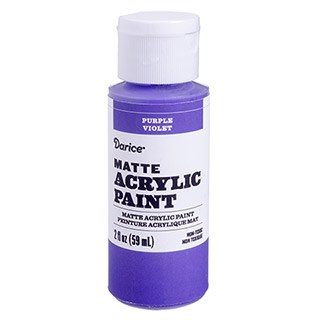 Matte Acrylic Paint, 2oz- Purple