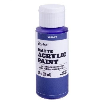Matte Acrylic Paint, 2oz- Violet