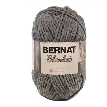 Bernat Blanket Yarn- Dark Grey