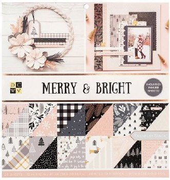 12x12 DCWV Paper Stack- Merry & Bright