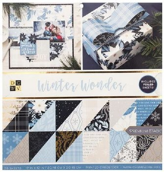 12x12 DCWV Paper Stack- Winter Wonder