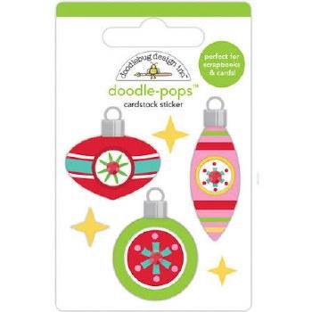 Christmas Magic Stickers, Doodle-Pops- Deck the Halls
