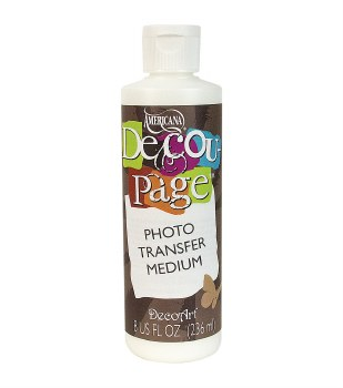 Decoupage Photo Transfer Medium, 8oz.