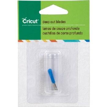 Cricut Blades- Deep Cut Blade Replacements, 2pk