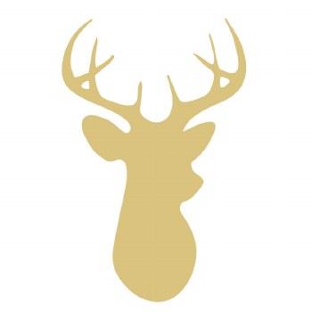 "Deer MDF Cut Out- 18"""