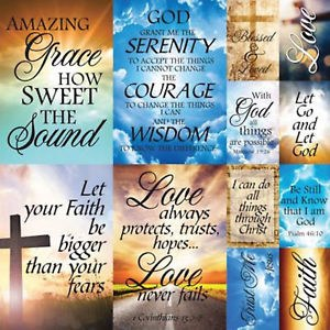 Reminisce Faith 12x12 Sticker Sheet- Devoted Faith