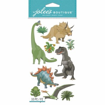 Jolee's Dimensional Stickers- Dinosaurs