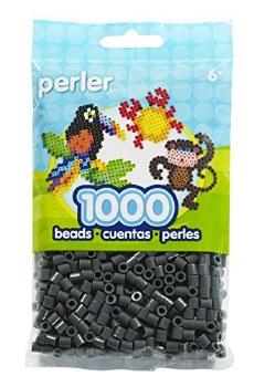 Perler Beads 1000 piece- Dark Grey