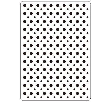 Darice Embossing Folder- Background- Dots