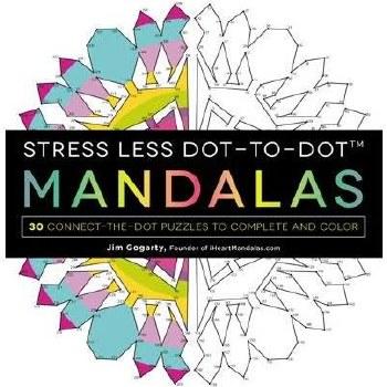 Adult Coloring Book- Dot-to-Dot Mandalas