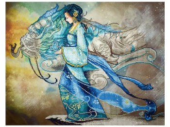 Diamond Facet Art Kit- Dragon Princess