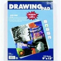 9x12 Drawing Pad- 125 sheets