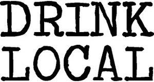 """Drink Local"" Vinyl"