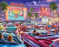 Drive-In Movie - 1000 Pc Jigsa