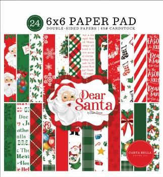 Dear Santa 6x6 Paper Pad
