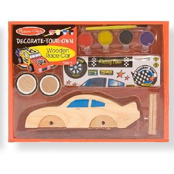 Melissa & Doug Decorate Your Own Wooden Race Car