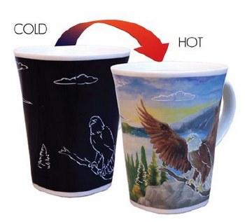 Color Changing Story Mug- Eagle