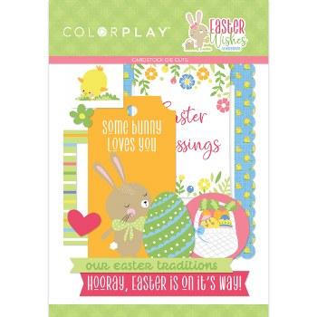 Easter Wishes Ephemera Die Cuts