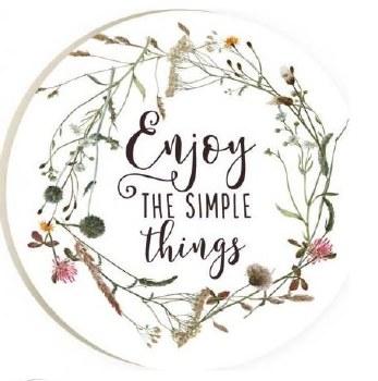 Car Coaster- Enjoy the Simple Things