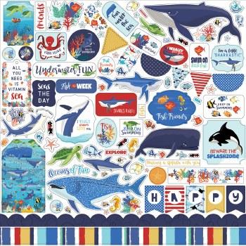 Fish are Friends Sticker Sheet