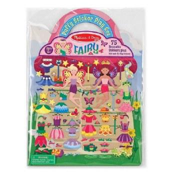 Melissa & Doug Reusable Puffy Sticker Kit- Fairy