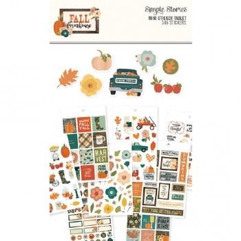 Fall Farmhouse Mini Sticker Tablet