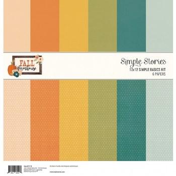 Fall Farmhouse Simple Basics Paper Kit