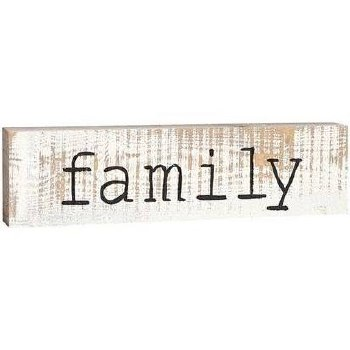 Skinny & Small Wood Sign- Family