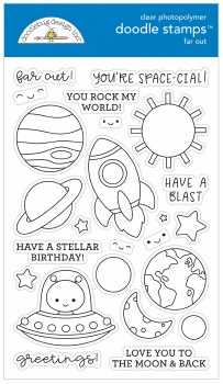 Doodle Stamps & Dies- Far Out Stamps