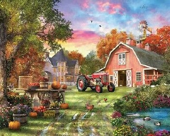 Farm Life - 1,000 Pieces