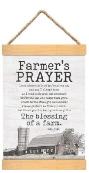 Banner Art- Farmer's Prayer