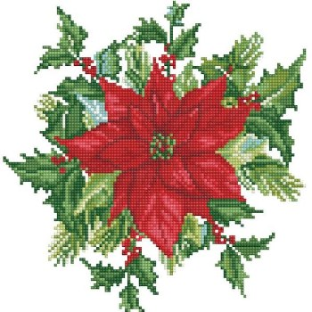 Diamond Facet Art Kit- Festive Bouquet