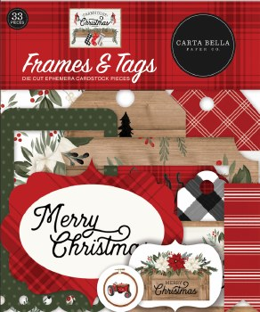 Farmhouse Christmas Dies Cuts- Frames & Tags
