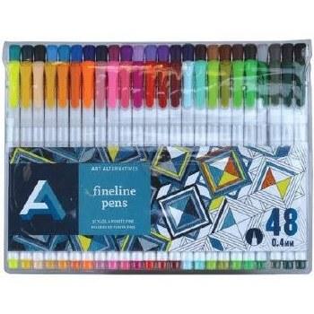 Art Alternatives Fineline Pen Set, 48ct