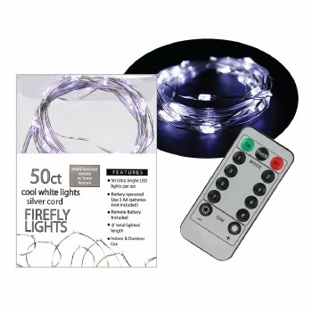 50ct Firefly Lights- Cool White