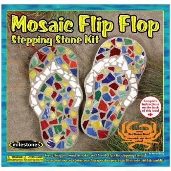 Stepping Stone Kit- Mosaic Flip Flop