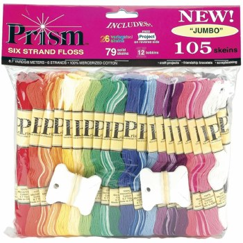 Embroidery Floss Jumbo Pack, 105ct- Solid & Variegated