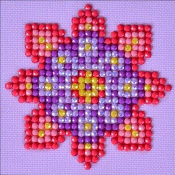 Diamond Facet Art Starter Kit- Flower Mandala 2