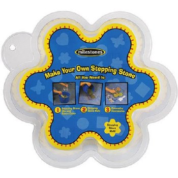 """Stepping Stone Mold- 12"""" Flower"""
