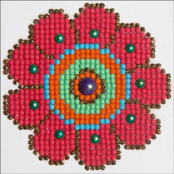 Diamond Facet Art Kit- Flower Power