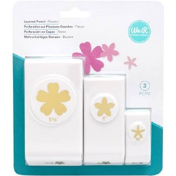 Nesting Punches, 3pk- Flowers