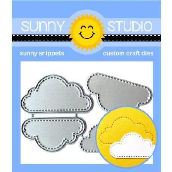 Sunny Studio Craft Dies- Fluffy Clouds