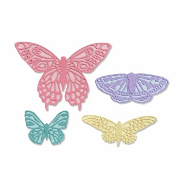 Sizzix Thinlits Dies- Flutter On By