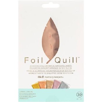 """Foil Quill Heart Activated Foil 30pk, 4""""x6""""- Shining Star"""