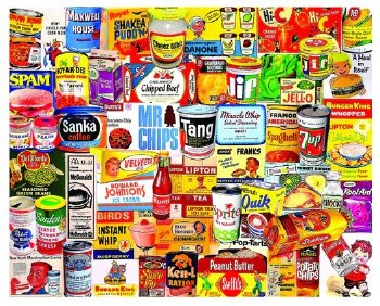 Foods We Loved - 1,000 Piece Puzzle