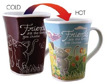 Color Changing Story Mug- Friends